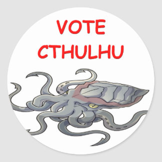 vote cthulhu stickers