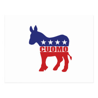 Vote Cupmo Democrat Postcard