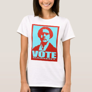 Vote Dammit Susan B. Anthony Pop Art T-Shirt