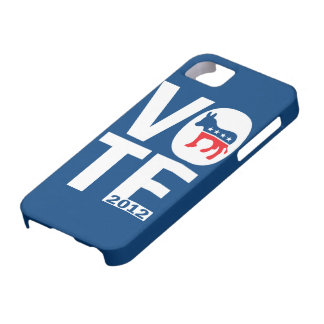 Vote Democrat 2012 Obama iPhone 5 Case
