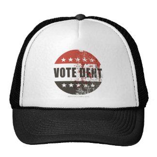 Vote Dent sticker Mesh Hat