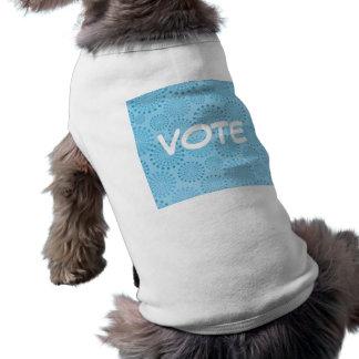 Vote Dog Puppy Tee Shirt Dog Clothing