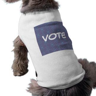Vote Dog Puppy Tee Shirt Doggie Tshirt