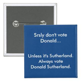 Vote Donald Button