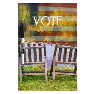 VOTE DRY ERASE BOARD