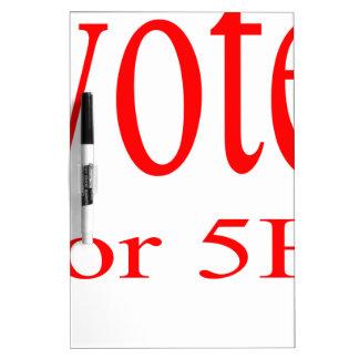 vote election republic democrat 2016 coming 5h fif Dry-Erase whiteboard