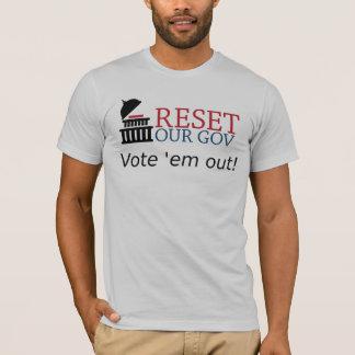 Vote 'em out - T-shirt