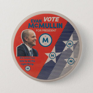 Vote Evan McMullin 2016 7.5 Cm Round Badge