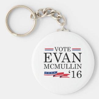 Vote Evan McMullin 2016 Basic Round Button Key Ring