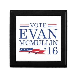 Vote Evan McMullin 2016 Small Square Gift Box