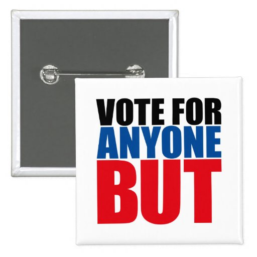 VOTE FOR ANYONE BUT PIN