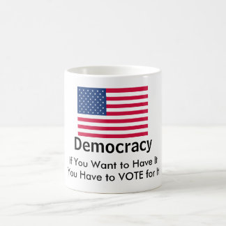Vote for Democracy Coffee Mug