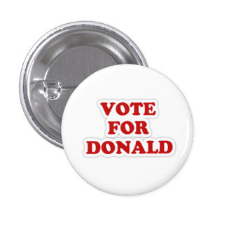 Vote For Donald Button