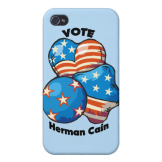 Vote for Herman Cain iPhone 4/4S Cover