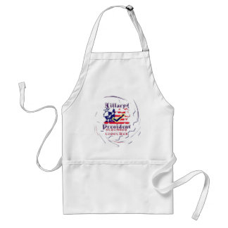 Vote for Hillary USA Stronger Together  My Preside Standard Apron