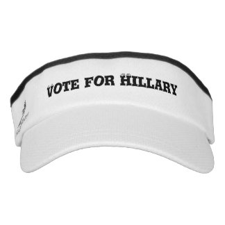 Vote for Hillary Visor