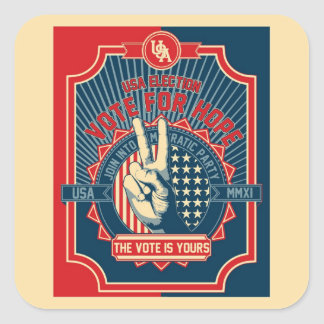Vote for Hope Sticker