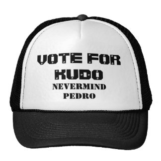 VOTE FOR KUDO HATS