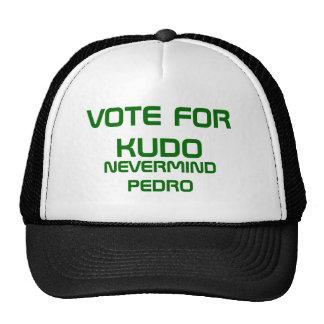 VOTE FOR KUDO TRUCKER HATS