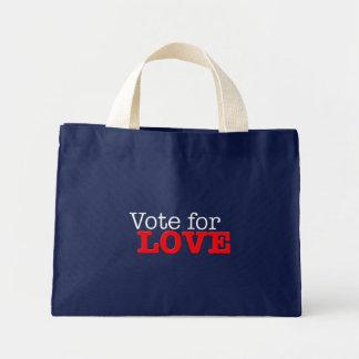 Vote for Love Mini Tote Bag