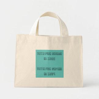 vote for... mini tote bag