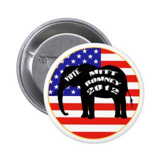 Vote For Mitt Romney  Buttons