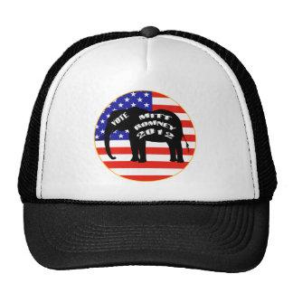 Vote For Mitt Romney Mesh Hat