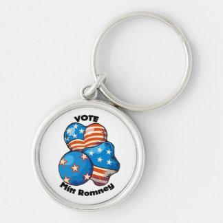Vote for Mitt Romney Keychains