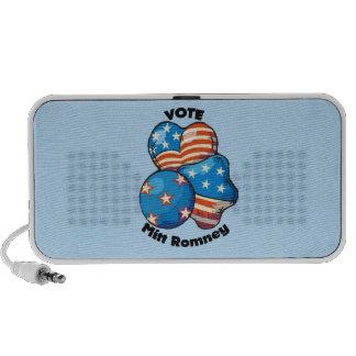Vote for Mitt Romney Mp3 Speakers