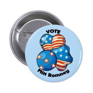 Vote for Mitt Romney Pin