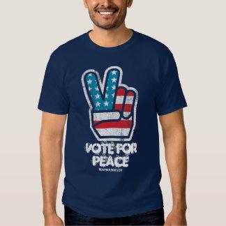 Vote For Peace Ron Paul Shirt