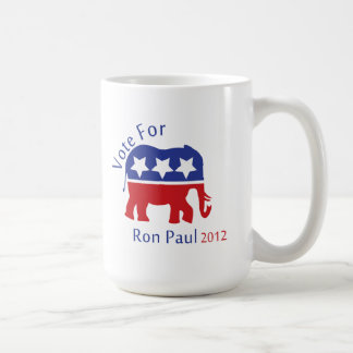 Vote for Ron Paul 2012 Coffee Mugs