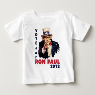 Vote for Ron Paul 2012.png Baby T-Shirt