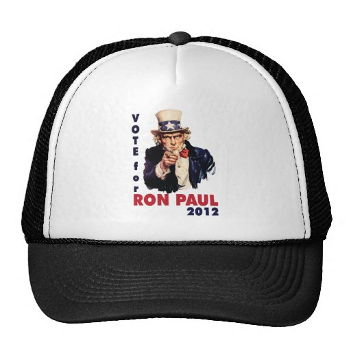 Vote for Ron Paul 2012.png Hats