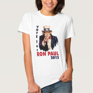 Vote for Ron Paul 2012.png Tshirts