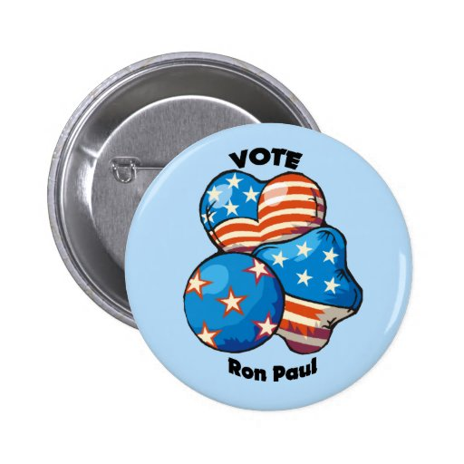 Vote for Ron Paul Pins