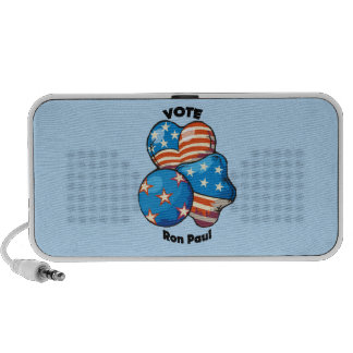 Vote for Ron Paul Travel Speakers