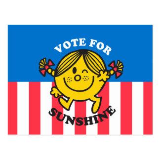 Vote For Sunshine Postcard
