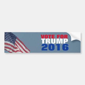 Vote for Trump 2016 Presidential Election GOP Bumper Sticker