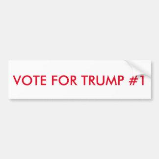 VOTE FOR TRUMP BUMPER STICKER