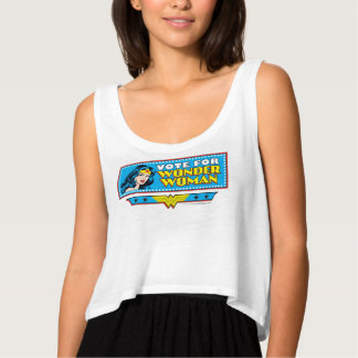 Vote for Wonder Woman Singlet