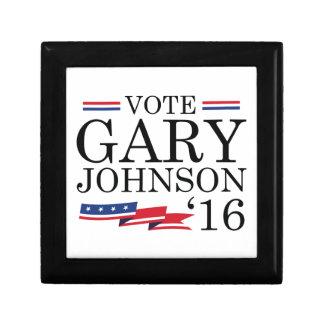 Vote Gary Johnson 2016 Small Square Gift Box