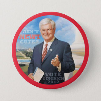 Vote Gingrich 2012 7.5 Cm Round Badge