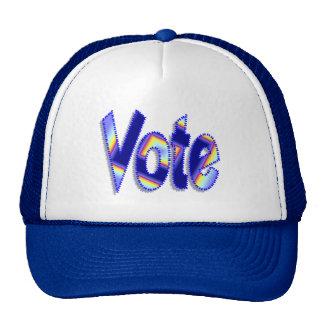vote mesh hats