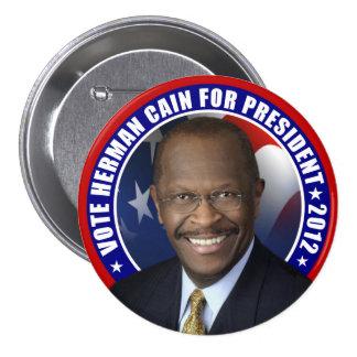 Vote Herman Cain 2012 7.5 Cm Round Badge