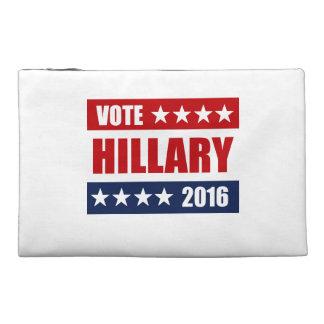 VOTE HILLARY 2016 TRAVEL ACCESSORIES BAG