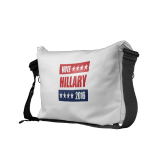 VOTE HILLARY 2016 MESSENGER BAGS