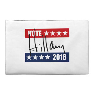 VOTE HILLARY CLINTON 2016 TRAVEL ACCESSORIES BAGS