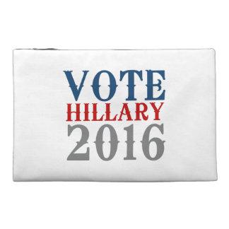 VOTE HILLARY CLINTON 2016 VINTAGE TRAVEL ACCESSORIES BAG