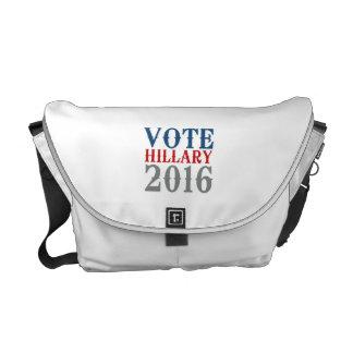 VOTE HILLARY CLINTON 2016 VINTAGE COURIER BAGS